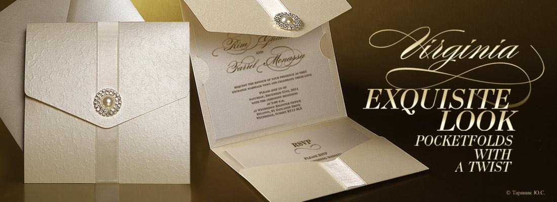 Оригинальные Свадебные приглашения 1st-Сlass